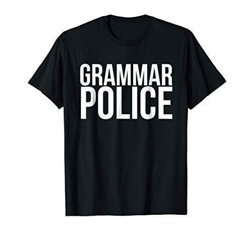 Grammar Police Halloween Costume T-shirt]()