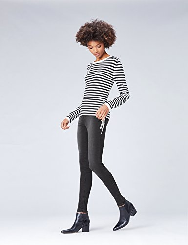 Nero Donna Vita Jeans Regular Skinny Find washed Black xXqOwBEf