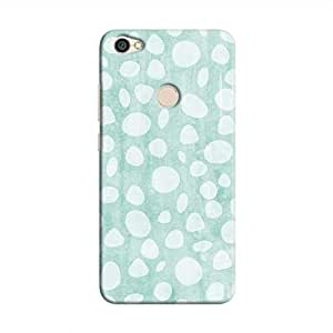 Cover It Up - Pebble Print Blue Redmi Y1 Hard Case