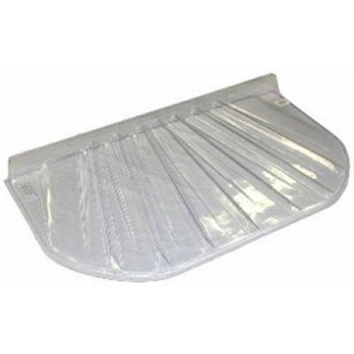 Maccourt 5725R Products 57 x 25 x 4 Wind Well Cover, Transparent|Clear MACCOURT PRODUCTS