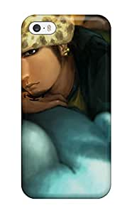 Durable Case For The Iphone 5/5s- Eco-friendly Retail Packaging(one Piece Glance Anime Mood )