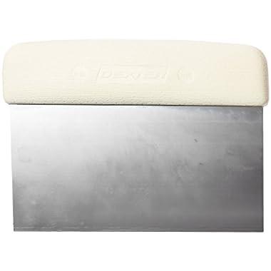 Dexter-Russell - Sani-Safe 19783 6  x 3  White Dough Cutter/Scraper with Polypropylene Handle