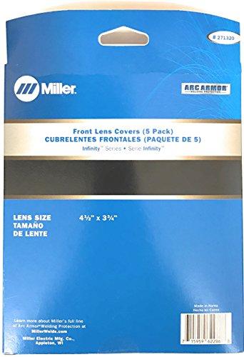 271320 MILLER ELECTRIC Front Lens Cover,Polycarbonate,PK5