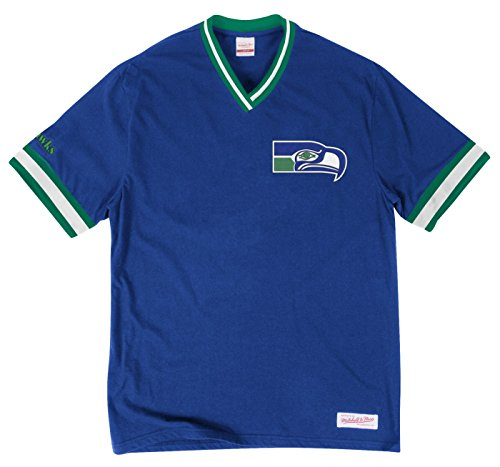 Mitchell & Ness Seattle Seahawks NFL Win Vintage Premium T-Shirt