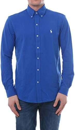 Camisa Polo Ralph Lauren De Piqué Vaporosa Azul para Hombre XXL Azul: Amazon.es: Zapatos y complementos
