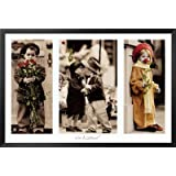 Professionally Framed Kim Anderson (Little Friends) Art Poster Print - 24x36 with Solid Black Wood Frame