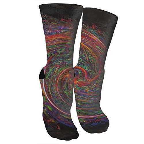 Miaowow Bohemian Rhapsody High Socks Crew Sock Crazy Socks Long Tube Socks Novelty Fun for Women Teens Girls