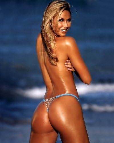 Amazon Com Stacy Keibler Topless Tiny Thong  X Photo Wall Art