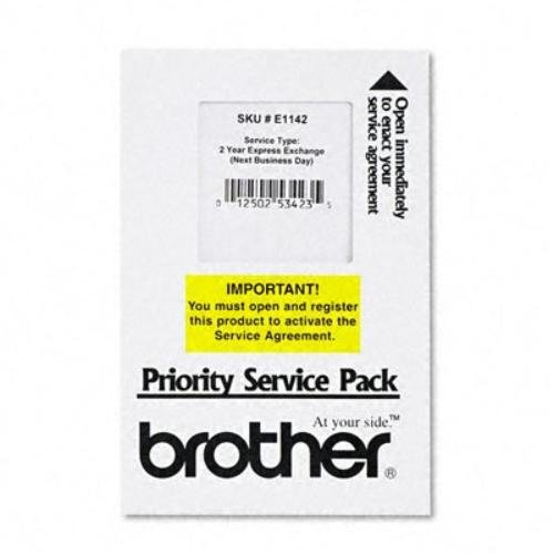 Brother BRTE1142 Exchange Service, 2 Year