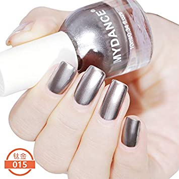 Amazon Com Cattie Girl 1 Bottle 10ml Metalic Nail Polish