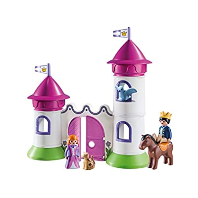 PLAYMOBIL Castle with Stackable Towersed: Toys & Games