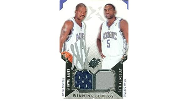 cb0dbdb2b75 Steve Francis autographed Basketball Card (Orlando Magic) 2004 Upper Deck  SPX  WC-FM with Cuttino Mobley at Amazon s Sports Collectibles Store