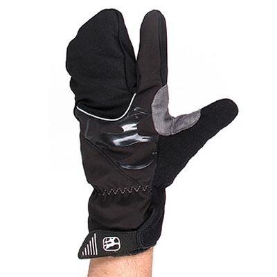 Giordana SottoZero Lobster Waterproof Winter Gloves Black, L - Men's