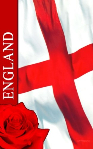 - England Notebook: St George Cross / English Flag ( Journal / Gift ) (World Cultures)