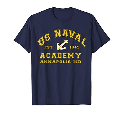 Mens US Naval Academy T-Shirt by RangerTees Small Navy