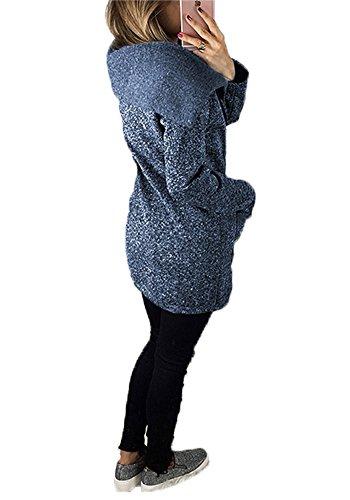 Hiver Tomwell Manteaux Veste Femme Taille Grande Z8Oq85