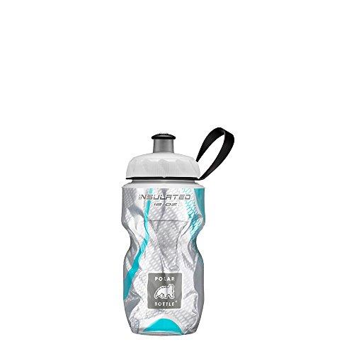 (Polar Bottle Insulated Water Bottle - 12OZ Spring Steel, 12 Oz)