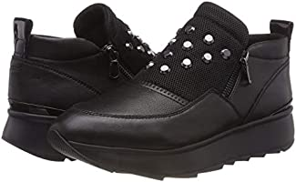 Geox Women's D Gendry A Slip On Trainers, (Black C9999), 6