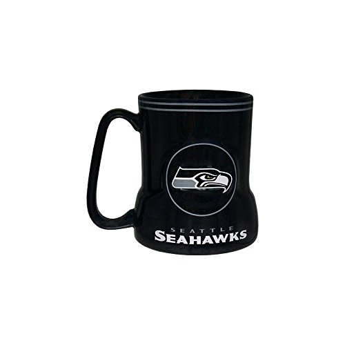 NFL Seattle Seahawks Sculpted Game Time Coffee Mug, 20-Ounce