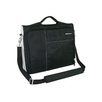 """Brenthaven Edge II 16"""" Jet Black Laptop Case Sleeve with Shoulder Strap Will Fit up to 17"""" Laptop. cheap"""