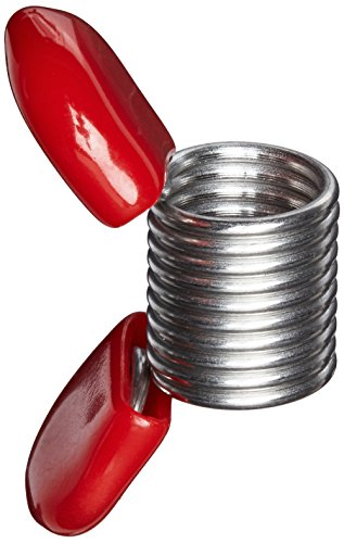 Soft Flex Bead Stoppers, Red- 4/Pkg