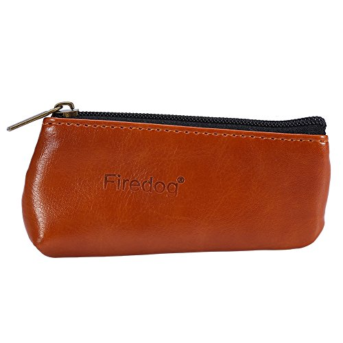 Zipper Tobacco Pouch (Tobacco Pouch,Haofy Portable Zippered PU Leather Pouch Bag Case Holder for Preserving Tobacco & Smoking Pipe)
