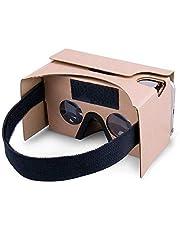 Google Karton 3D virtuele headset glazen, doe-het-zelf - karton compatibel met 3-6 inch scherm Android en Apple - smartphone