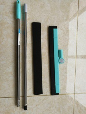 Floor Squeegee Wiper Window Squeegee Cleaner Blade Water Wiper Glass Sweep Brush for Bathroom Wet Room Floor Pet Hair Window Cleaning by Ying (Image #9)