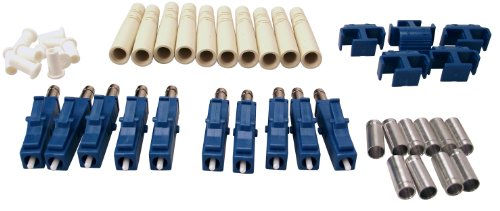 Shaxon FCLC-SM-10-B, LC Fiber Optic Connectors, Single Mode, 10 Pack