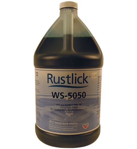 RUSTLICK Water Soluble Oils WS-5050 - Container Size: 1 Gal. MFR : 74016 by Rustlick