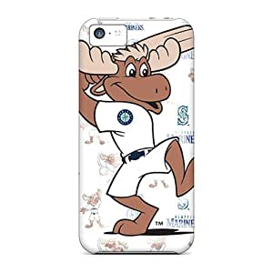 Scratch Resistant Hard Cell-phone Case For Iphone 5c (JEK3385RlvC) Support Personal Customs Vivid Seattle Mariners Skin