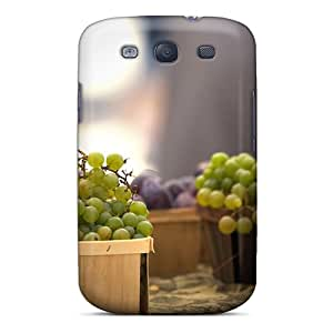 Durable Protector Case Cover With Fine Grape Hot Design For Galaxy S3