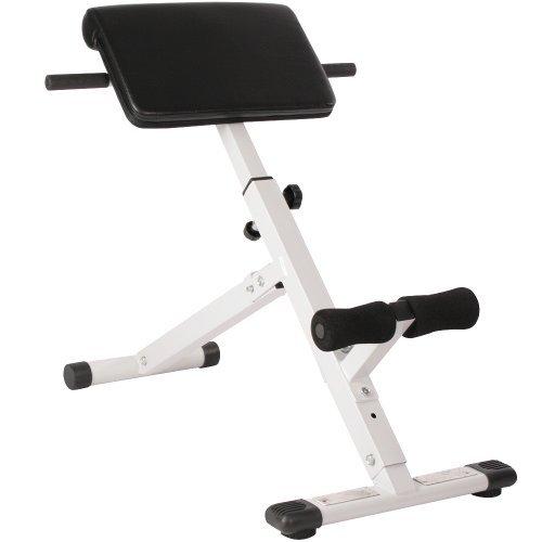 Rückentrainer, Bauchtrainer klappbar inkl. gepolsterter Beinfixierung