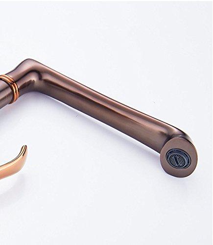 NewBorn Faucet Faucet Faucet Wasserhähne Warmes und Kaltes Wasser Guter Qualität Das Kupfer kalt- und Rosa Gold Küche Badezimmer d9193f