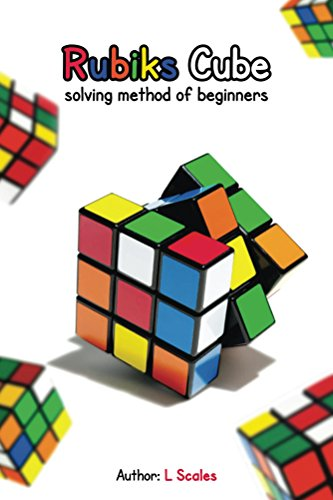 Rubiks cube solving method beginners ebook product image