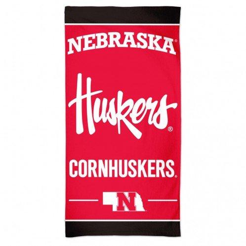 NCAA Nebraska Cornhuskers 30'' x 60''Beach Towel
