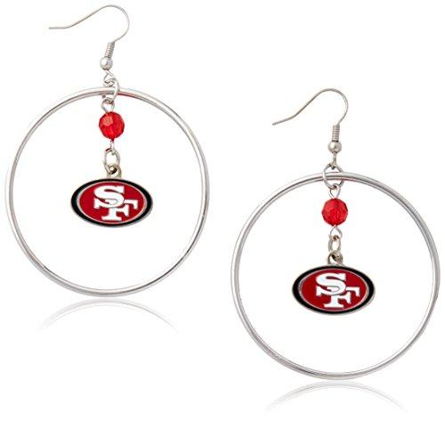 NFL San Francisco 49ers Color Bead Hoop ()