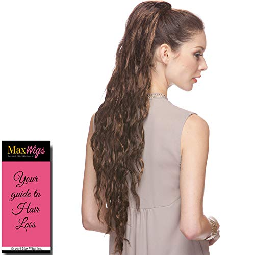Wig Synthetic Sepia Hair (Foxy Ponytail Color P4/27/30 - Sepia Wigs Up to 27