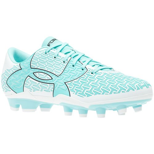 Under Armour Womens Cf Force 2.0 Fg Firm Ground Soccer Cleats White White 5 aba9fb9c06