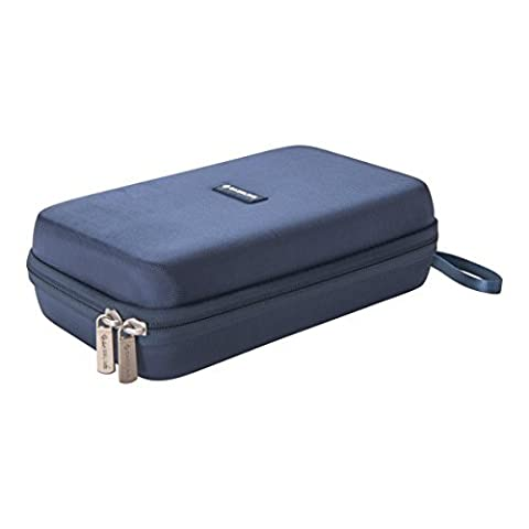 Caseling Universal Electronics/Accessories Hard Travel Carrying Case Bag, 9.5