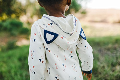 Asher and Olivia Baby Boys' Hooded One Piece Jumpsuit