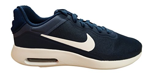 NIKE Air Max Modern Essential Mens Running Trainers 844874 Sneakers Shoes (US 7, Midnight Navy White 401)