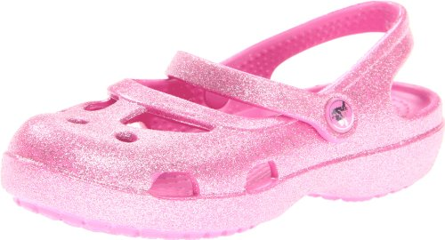 crocs 14478 Shayna Glitter Sandal (Toddler/Little Kid),Party Pink,6 M US Toddler by Crocs