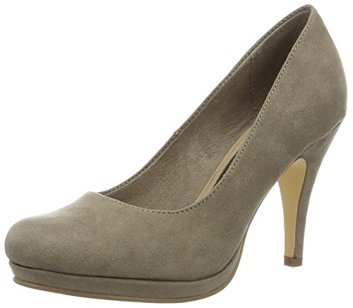 pepper toe Women''s 324 Tamaris Pumps Closed 22407 Brown zRnUqF