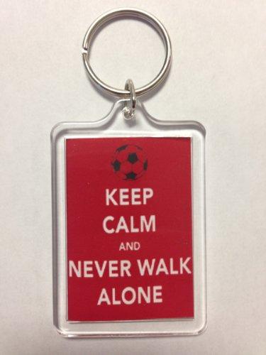 Liverpool F.C - Keep Calm Key Ring (NWA)