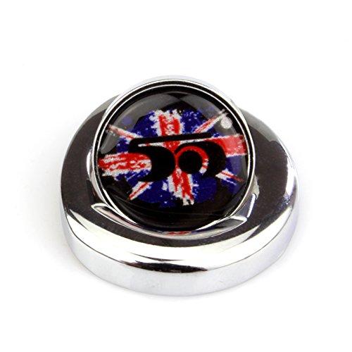 LVBAO Engine Start Push Start Button Ignition Starter Pushbutton Dash Cover Caps for Mini Cooper ONE//S//JCW R61 R60 R55 R56 R57 R58 R59 F54 F55 F56 F57 F60 Clubman Countryman Hardtop Hatchback 09