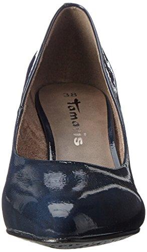 Tamaris Navy Femme Escarpins 22416 Bleu Patent wqpB1nOwC