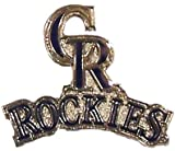 Colorado Rockies Primary Plus Logo Pin