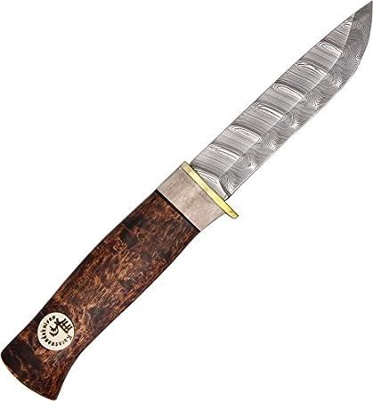Amazon.com: Karesuando Kniven kar3500 Beaver Damasco ...