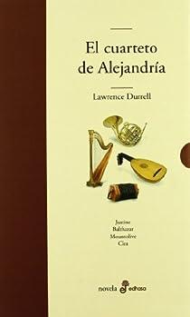El cuarteto de alejandría par Durrell